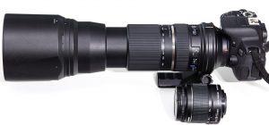 Olika sorters kameraobjektiv